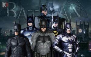 Эволюция Бэтмена в кино