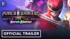 Трейлер видео игры Power Rangers Battle for the Grid