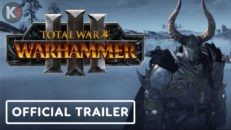 Трейлер видео игры Total War Warhammer 3