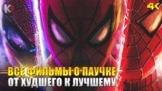 8 лучших фильмов о Человеке Пауке